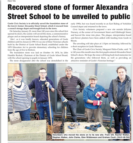 Goole Times preview of Goole Civic Society film premiere