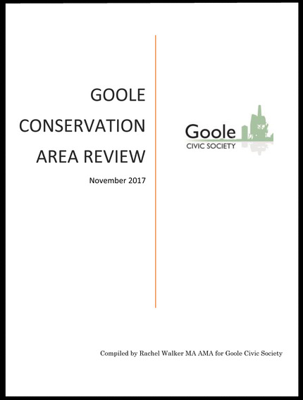 Goole Conservation Area Review front page