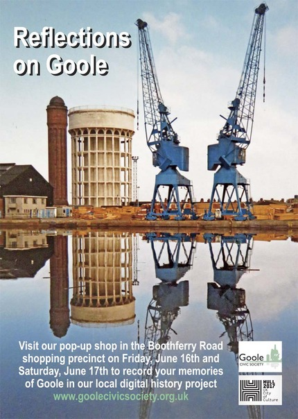 Reflections on Goole digital history project poster